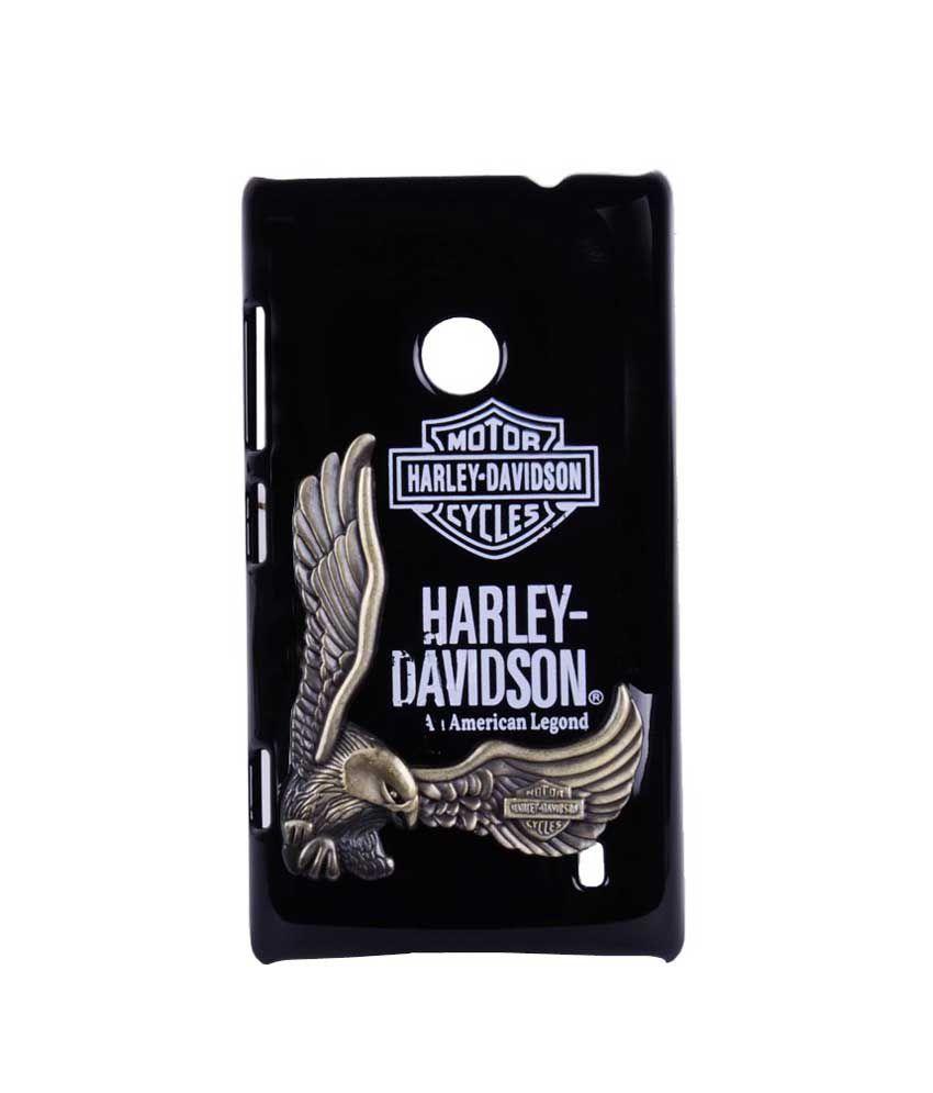 fuson premium design harley davidson 3d series hard back