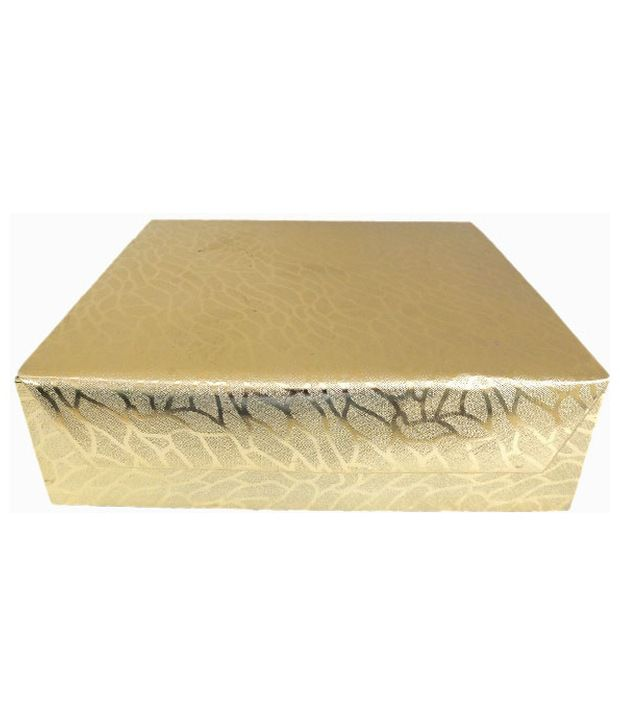 Golden Collections Bangle Box - Four Line Golden