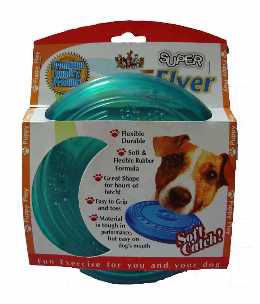 Super dog tough green super flyer buy super dog tough for Super tuff dog toys