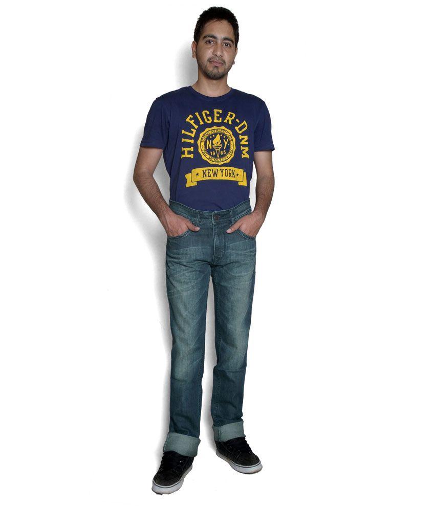 Calvin Klein Blue Slim Fit Jeans