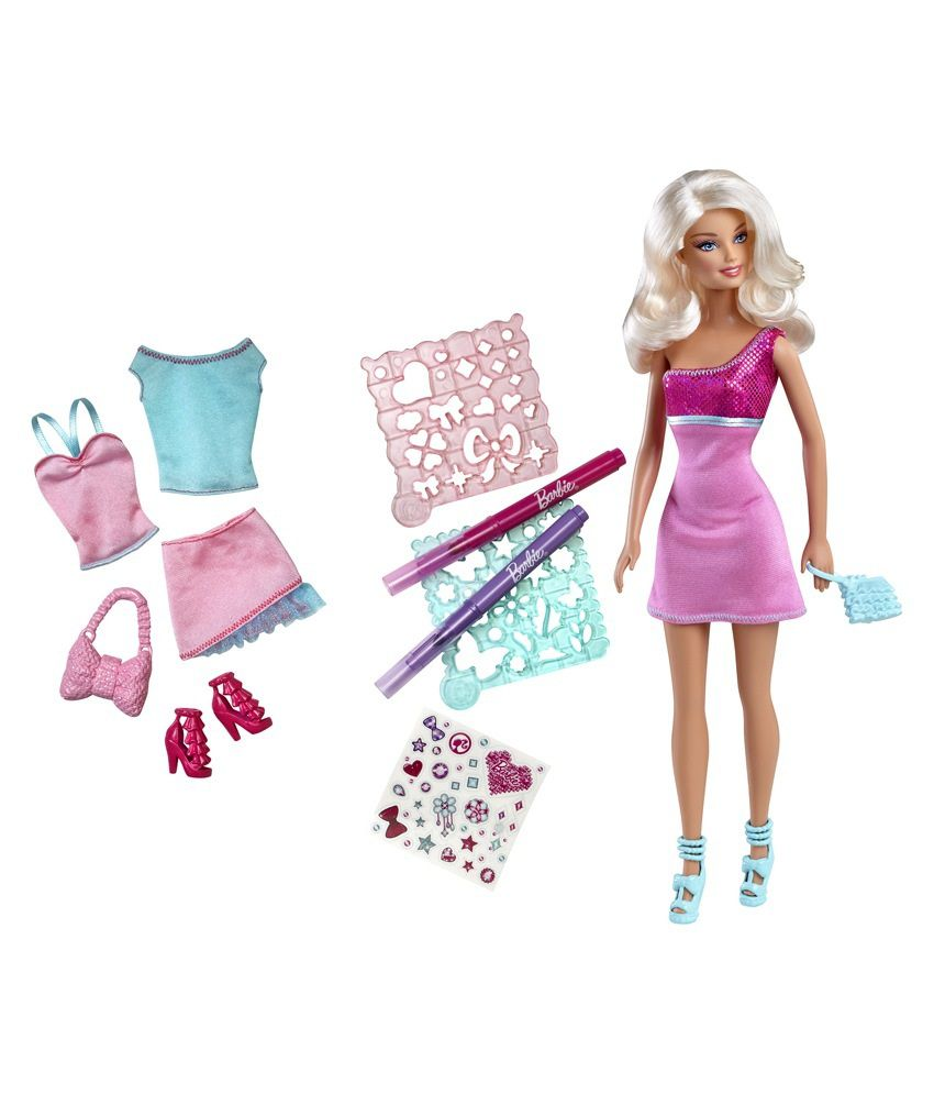 Barbie Design And Style Doll Best Price In India On 6th April 2018 Dealtuno