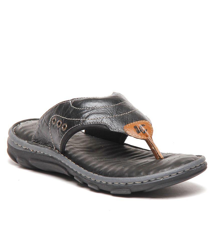 Lee Cooper Black Thong Slippers Price