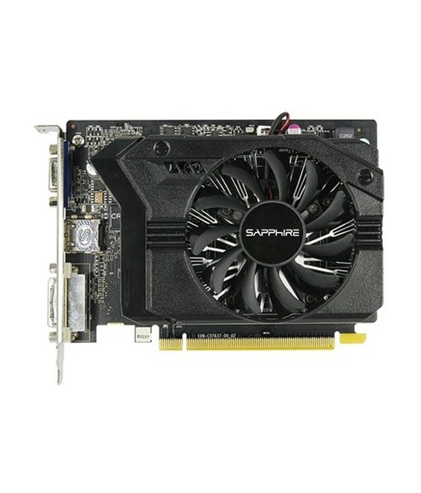 Sapphire AMD/ATI Radeon R7 250 with Boost R7 250 1 GB DDR5 Graphics Card