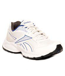 Reebok United Runner IV LP White & Blue Running Shoes