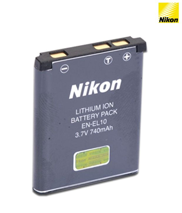 Nikon EN-EL 10 Rechargeable Battery Price in India- Buy Nikon EN-EL 10 Rechargeable Battery Online at Snapdeal