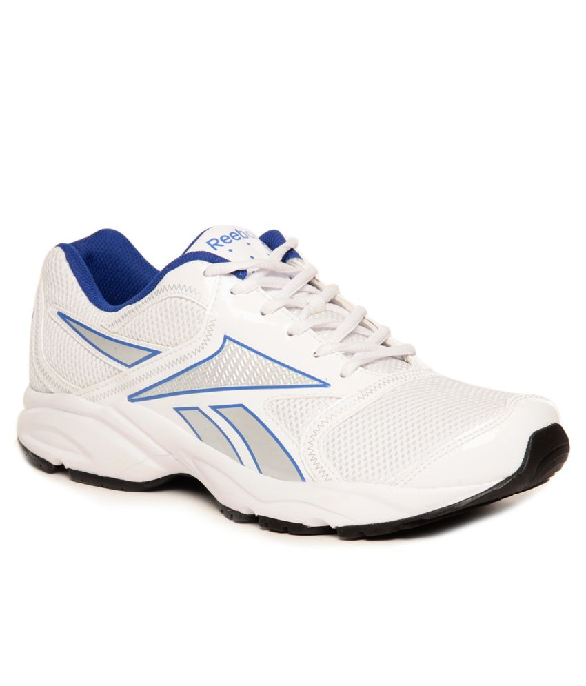 4a2319e72980b Reebok Pacific Run LP White   Royal Blue Running Shoes - Buy Reebok ...