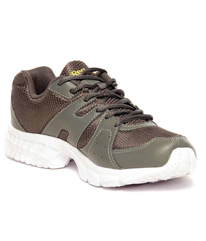 Reebok Top Speed LP Grey & Yellow Running Shoes