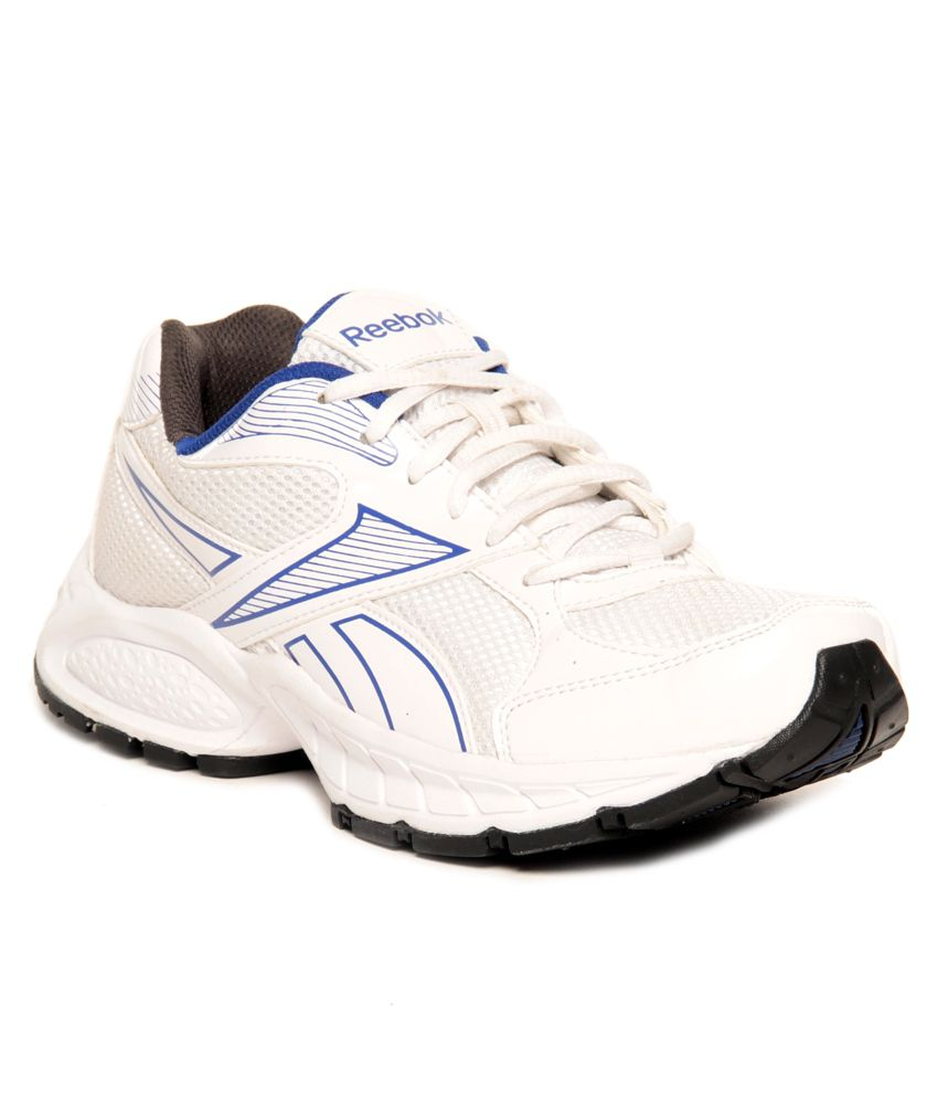 a0bde008a4f Reebok United Runner IV LP White   Blue Running Shoes - Buy Reebok United  Runner IV LP White   Blue Running Shoes Online at Best Prices in India on  Snapdeal