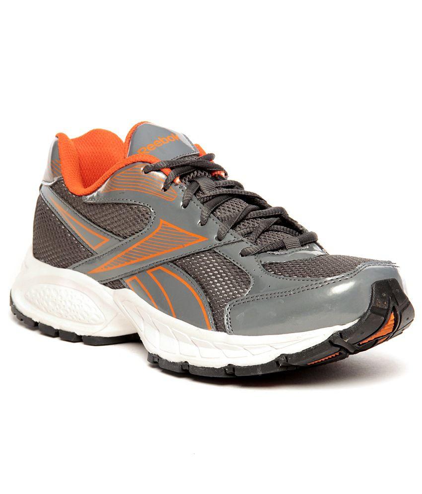 6e881bc3f51b Reebok United Runner IV LP Grey   Orange Running Shoes - Buy Reebok United  Runner IV LP Grey   Orange Running Shoes Online at Best Prices in India on  ...