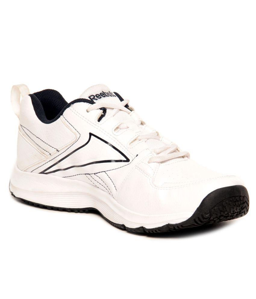 reebok white navy sports shoes buy reebok white navy