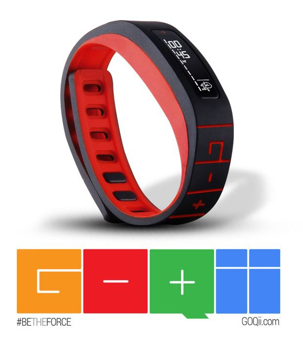 GOQii Life Fitness Tracker with Lifestyle Coaching
