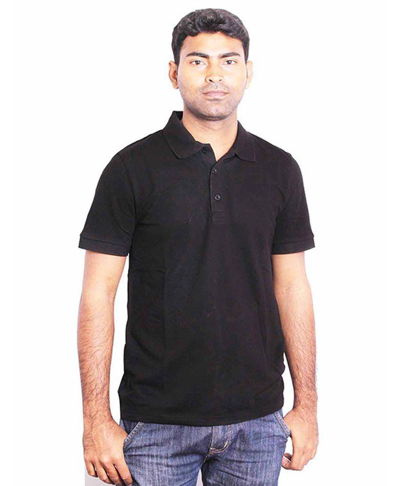 Puma Mens Black Polo T-Shirt