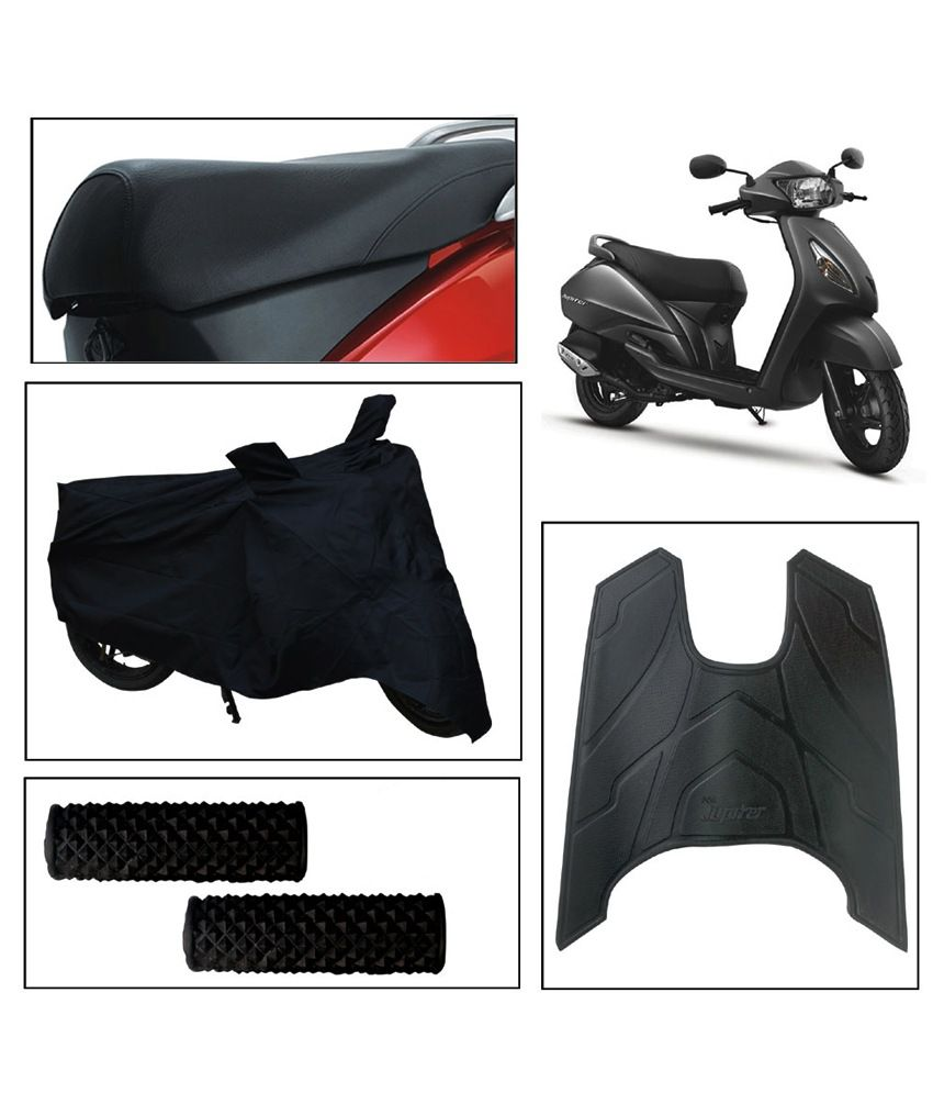 Vheelocityin Tvs Jupiter Seat Cover And Body Cover And