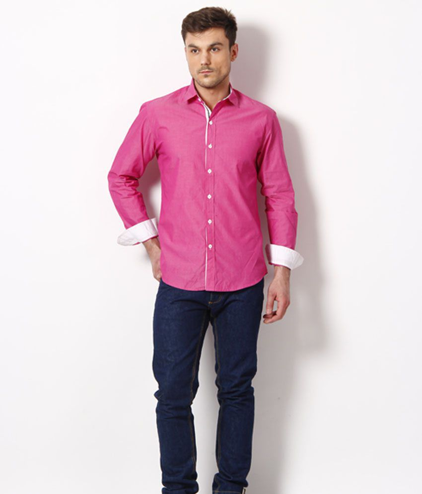 Casual Pink Shirt | Is Shirt