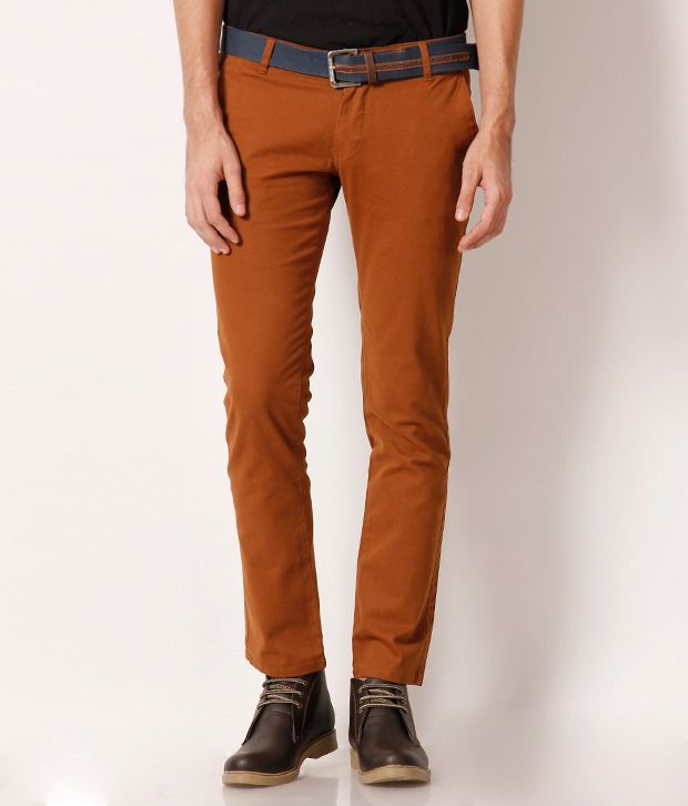 Fever Copper Fashionable Chinos
