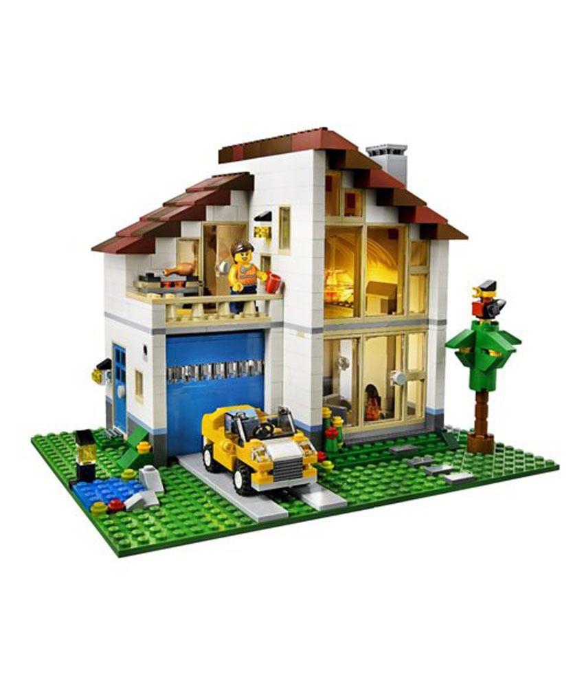Lego creator 3 in 1 family house building set for Home creator online