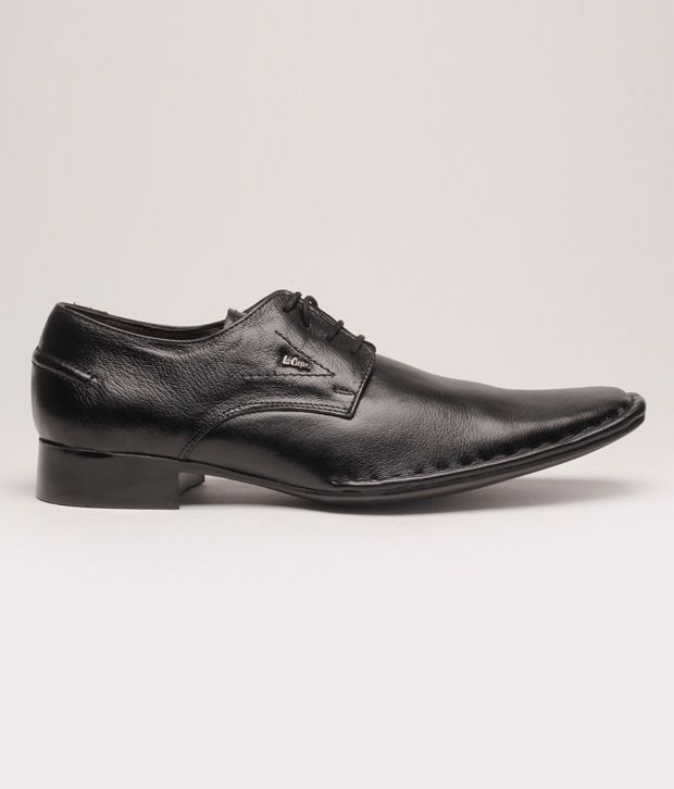 3e3854a3aa6 Lee Cooper Black Formal Shoes Art LC9896BLK Price in India- Buy Lee ...