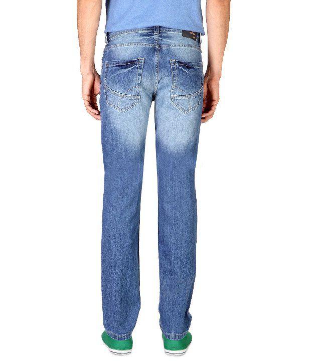 fcab1124e Peter England Blue Cotton Regular Fit Jeans - Buy Peter England Blue ...