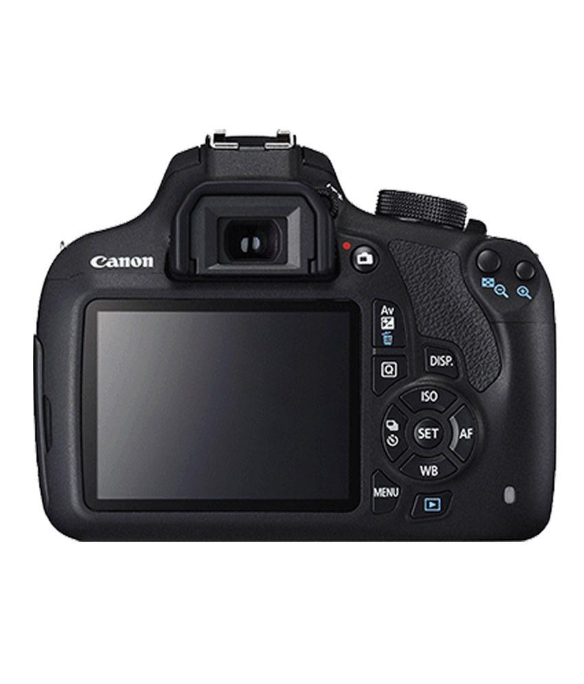 Canon 1200D with EF-S 18mm-55mm IS II Lens + EF-S 55mm-250mm IS II Lens ,  Memory card and Bag