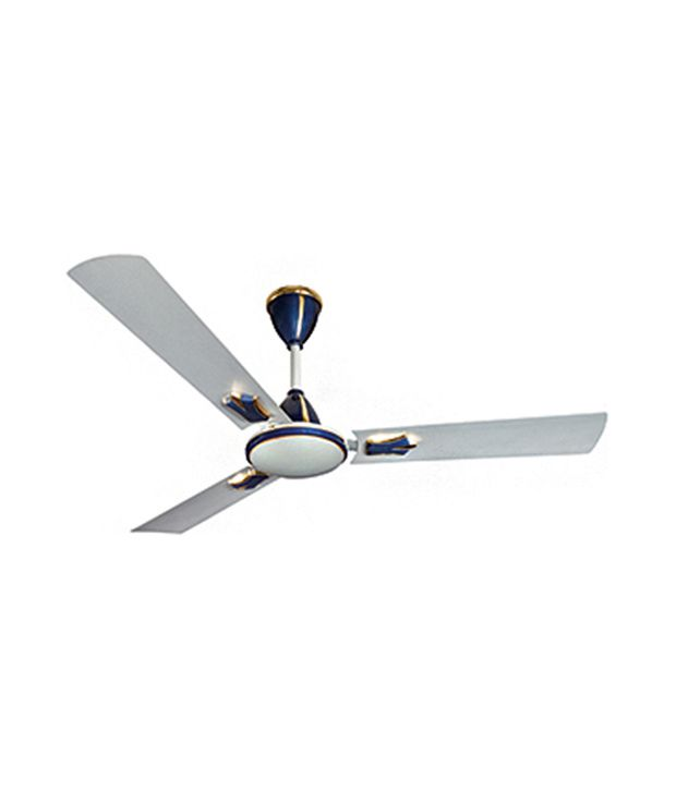 Crompton Greaves Flavia 1200 Mm Ceiling Fan Silver Blue