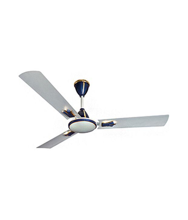 Crompton Greaves Flavia 1200 Mm Ceiling Fan Silver Blue