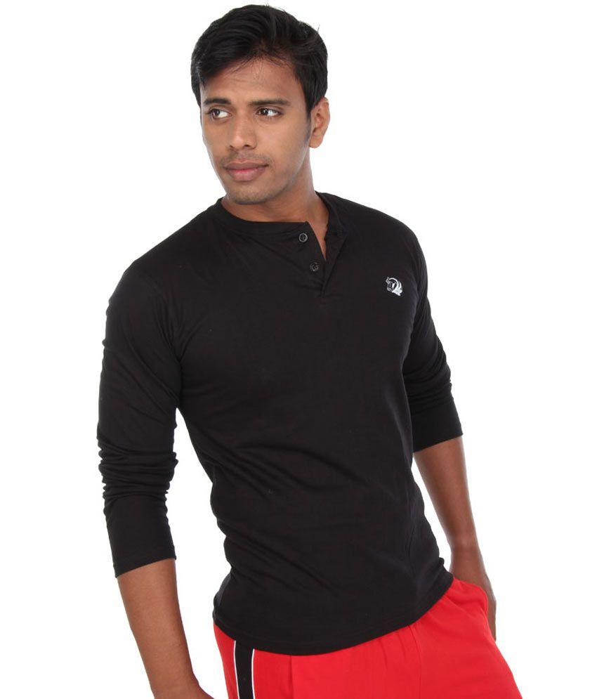 Black full hand t shirt is shirt for Full hand t shirts for womens