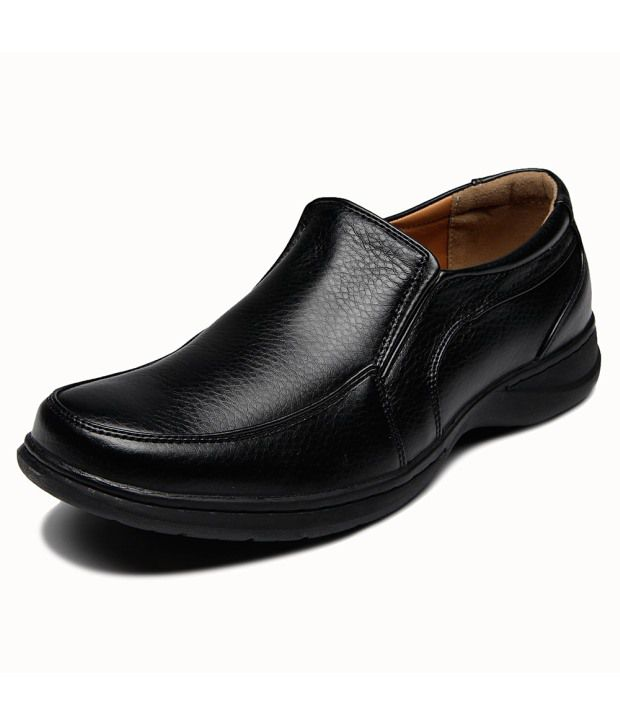 pavers black formal shoes price in india
