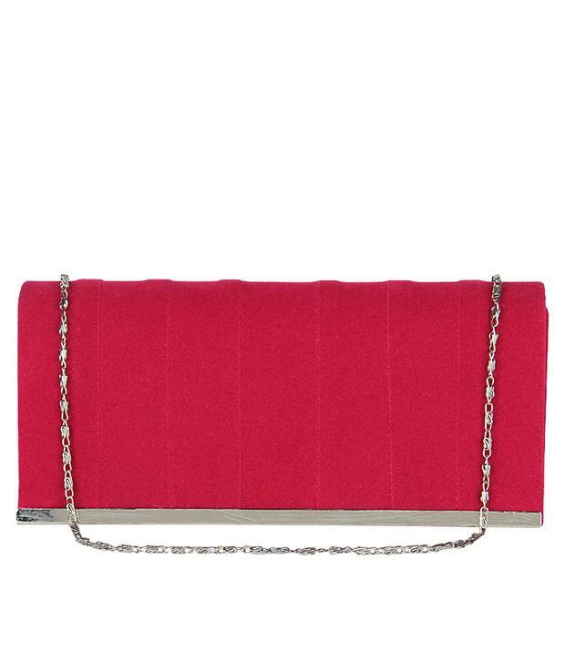 Lino Perros 8903421217328 Pink Clutch