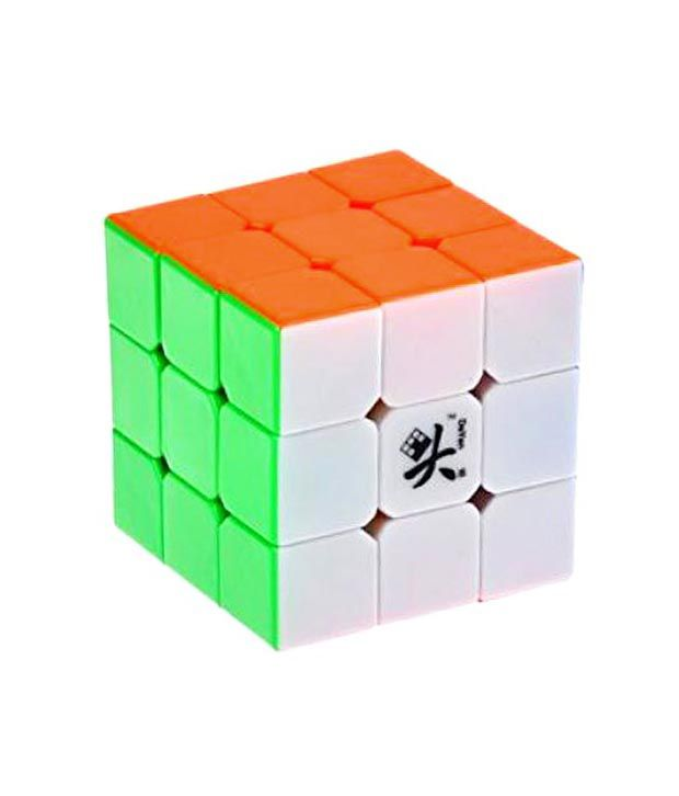 detailed images low price utterly stylish Dayan ZhanChi 3x3x3 Stickerless Speed Cube