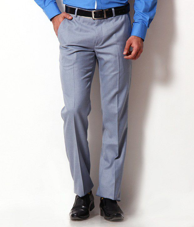 John Players Exclusive Light Blue Trousers
