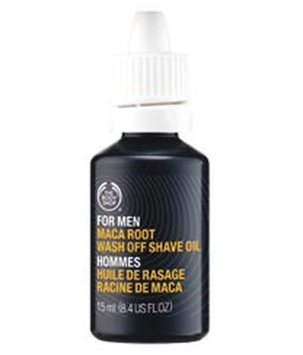 The Body Shop For Men Maca Root Wash Off Shave Oil 15 ml