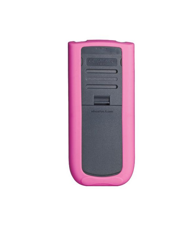 Guerrilla Pink Case Silicone For Texas Instruments TI 84
