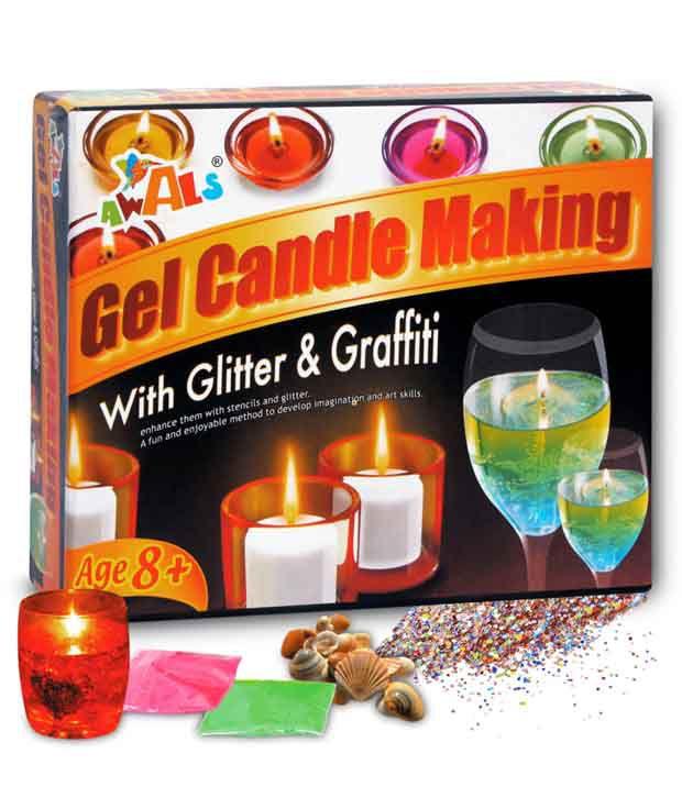 Awals Gel Candle Making Kit