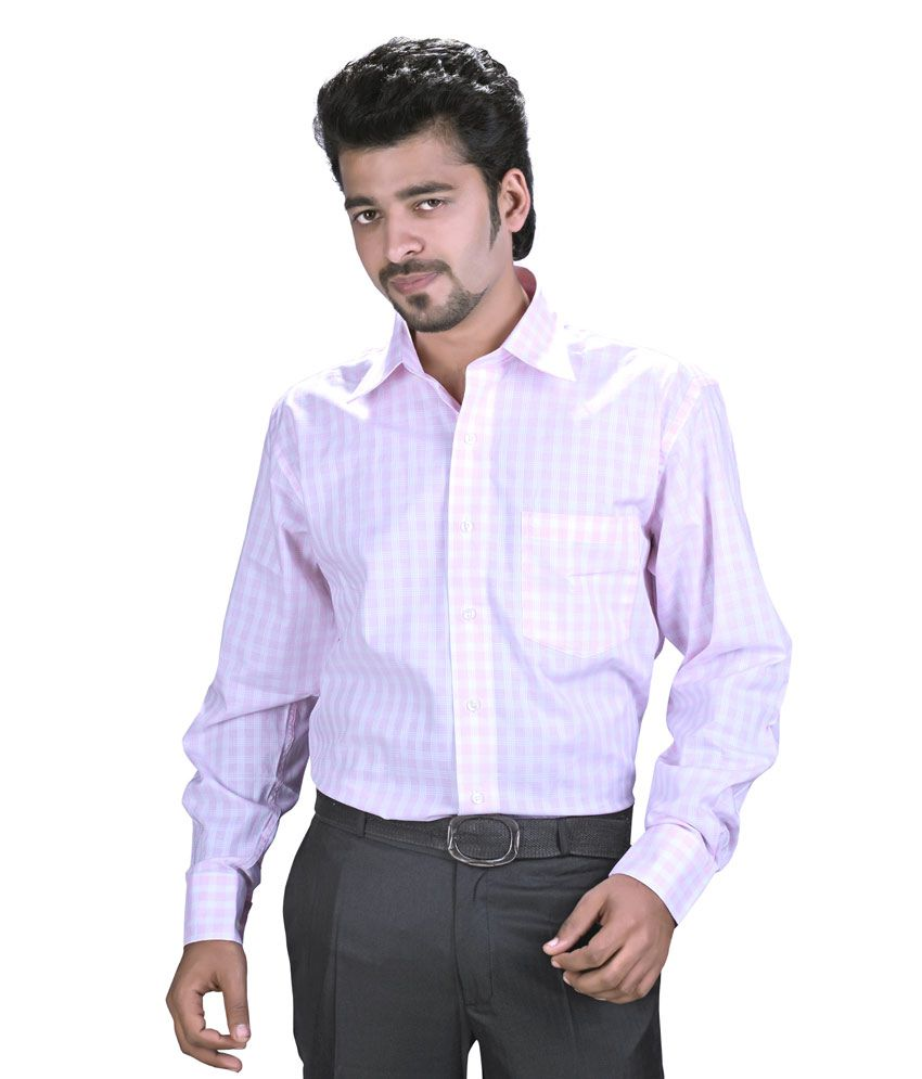 Speak Pink Regular Fit Party wear Shirt