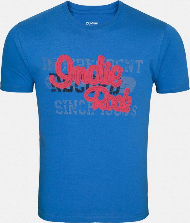 Zovi Appealing Blue T Shirt