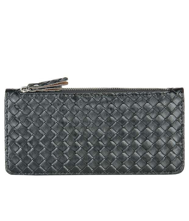 Lino Perros Fashionable Black Women Wallet