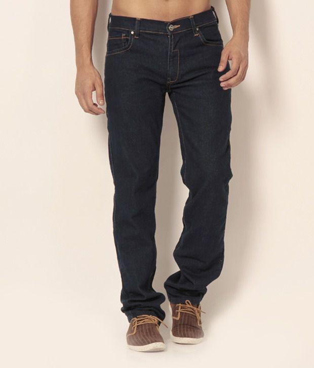 Newport Dark Blue Basics Jeans