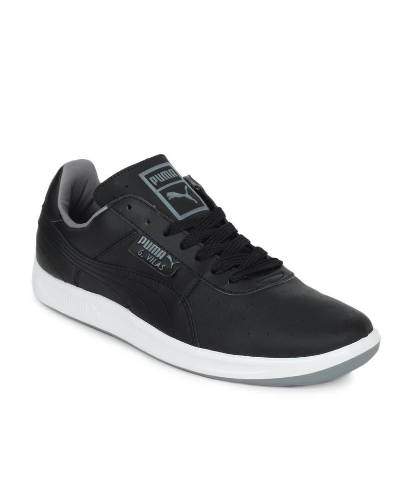 dd34cff9e8a3c0 Puma Men G Vilas L2 Black Lifestyle Shoes - Buy Puma Men G Vilas L2 Black  Lifestyle Shoes Online at Best Prices in India on Snapdeal