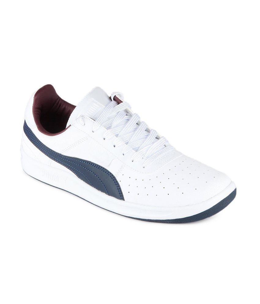 940f3f9719bfb0 Puma White Sneaker Shoes - Buy Puma White Sneaker Shoes Online at Best  Prices in India on Snapdeal