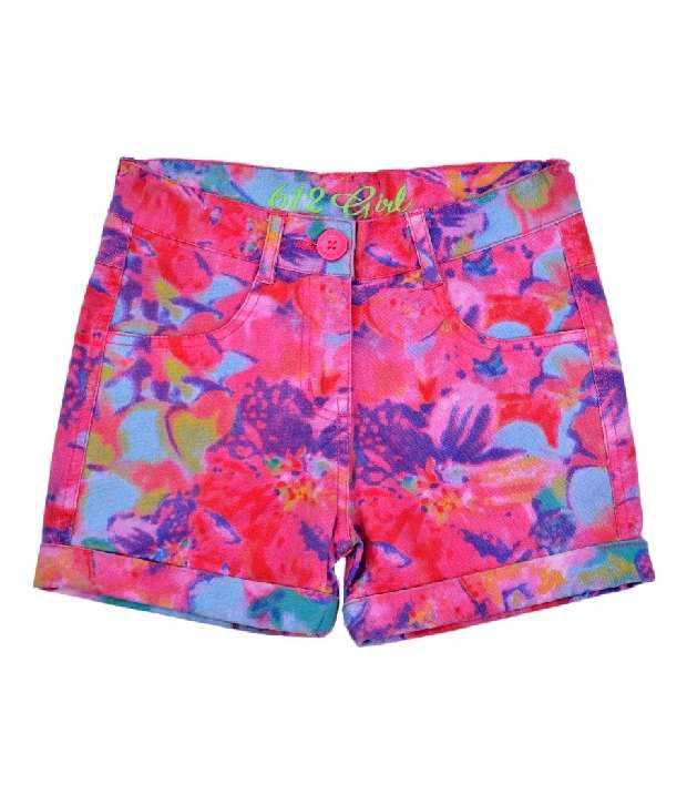 612Ivyleague Printed Multi Shorts For Kids