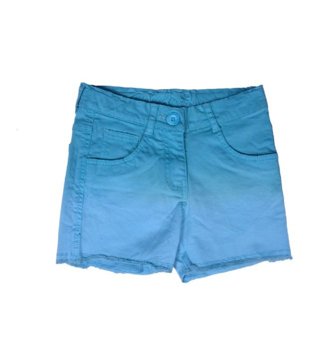 612Ivyleague Teal Shorts For Kids
