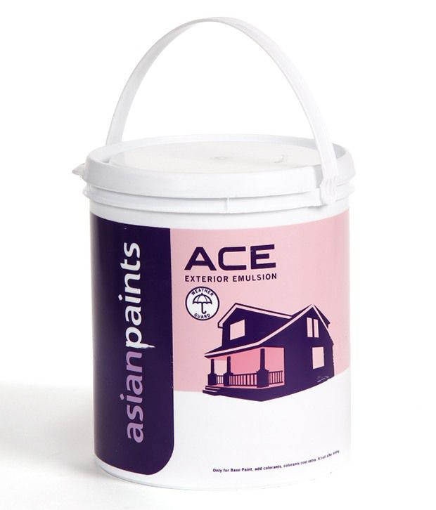 Buy asian paints ace exterior emulsion exterior paints ivory online at low price in india for Asian paints exterior emulsion colour shades