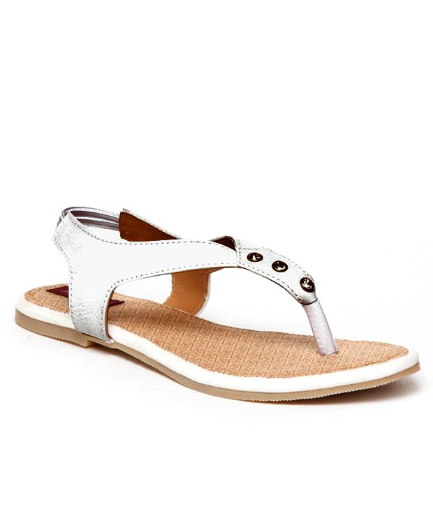 Lavanya By Butterfly Alluring White Sandals