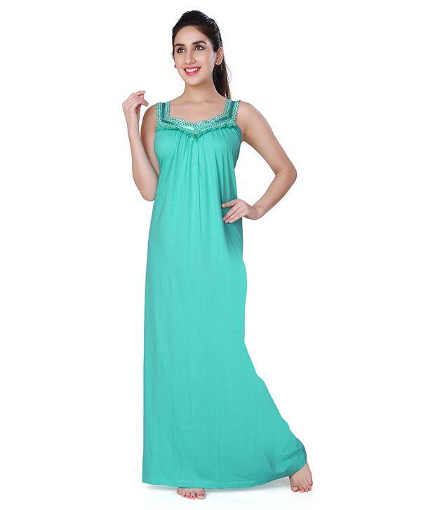 Honey Dew Cotton Nighty & Night Gowns Price in India | Buy Honey Dew ...