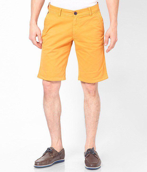 American Swan Stuart Saffron Shorts