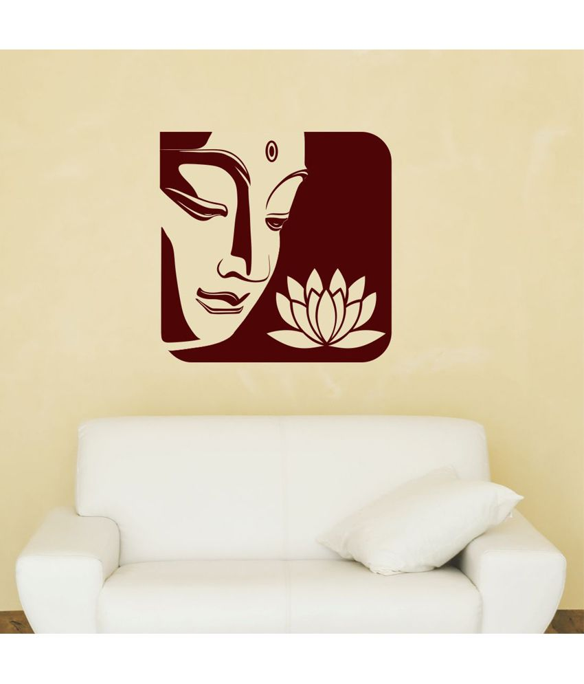 Chipakk Upmarket Buddha Wall Sticker ...