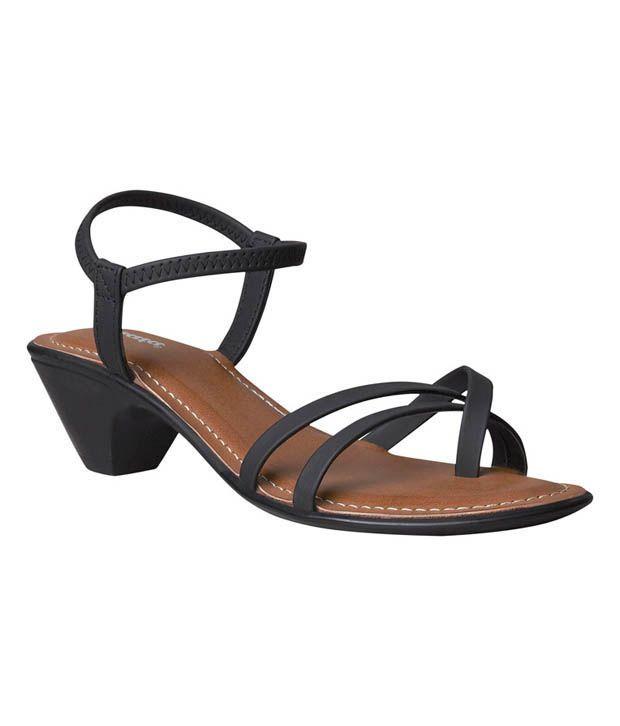 Buy India Aroma Bata In Heel Sandals Price Black MVpqUzS