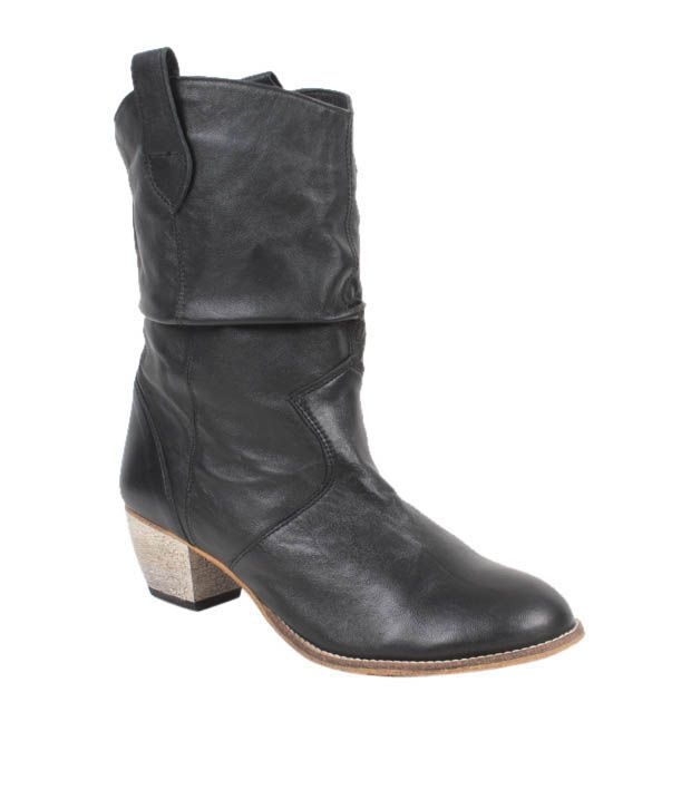 Carlton London Magnificent Black High Boots