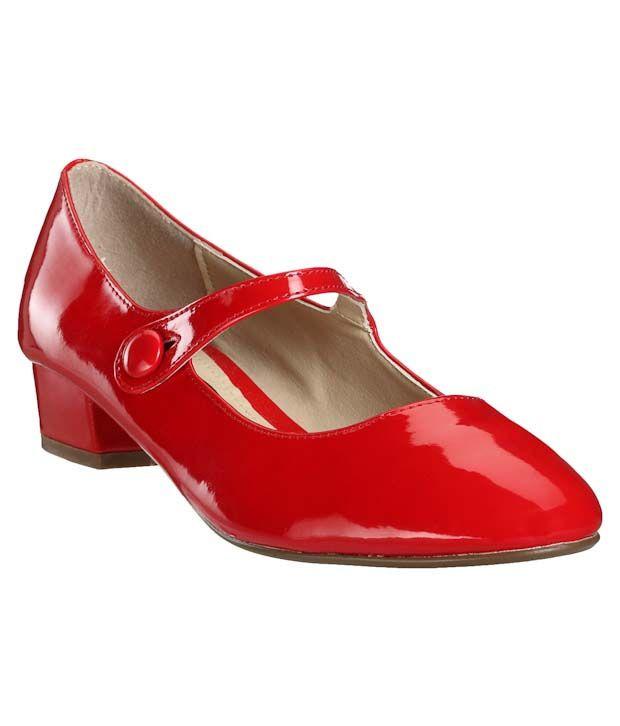 Carlton London Trendy Red Sandals