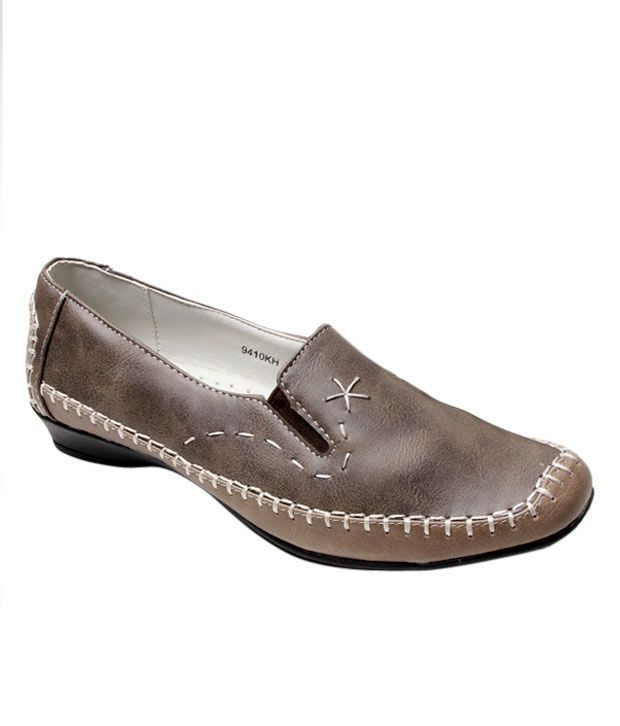 Catwalk Bouncy Brown Belly Shoes
